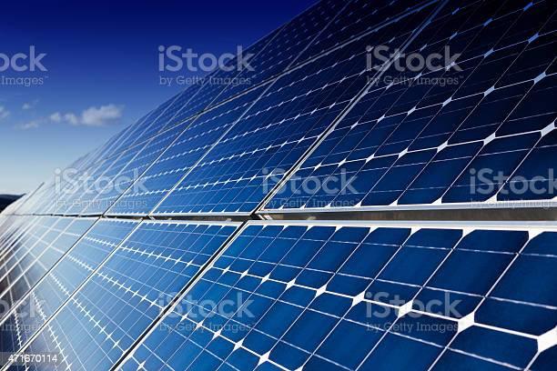 Panneaux solaires photovoltaïque