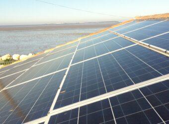Centrale solaire sur le gîte La salamandre à Fouras