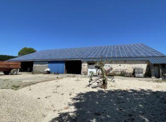 Centrale solaire dans la ville de ALLONNE